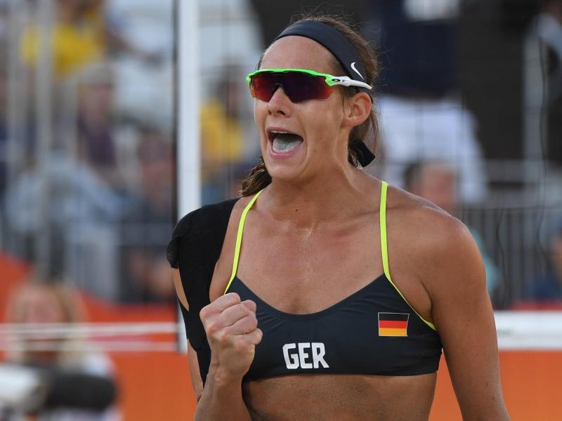 Kira Walkenhorst gewann 2016 zusammen mit Laura Ludwig olympisches Gold