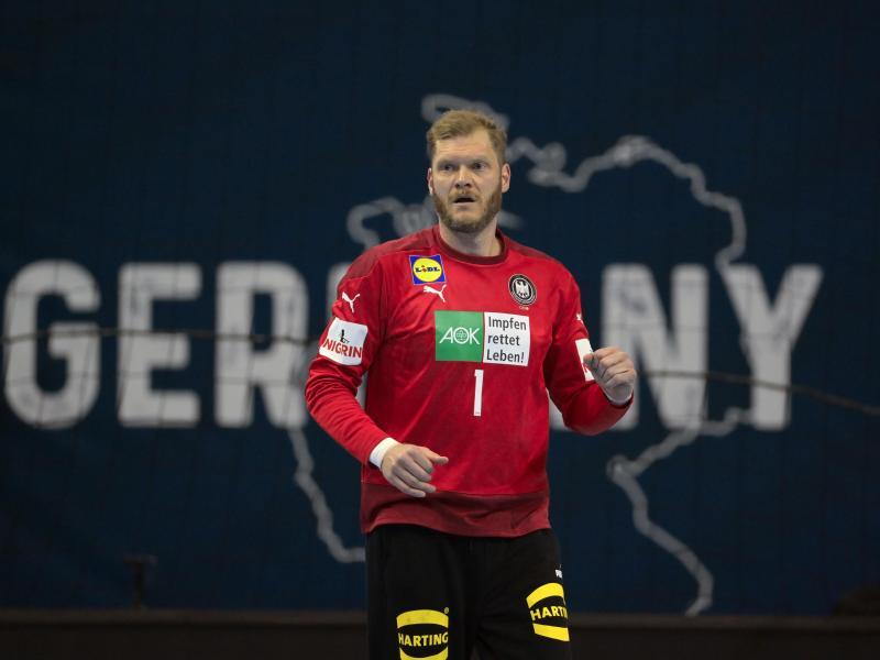 Torhüter Johannes Bitter denkt noch nicht ans Karriereende in der Handball-Nationalmannschaft