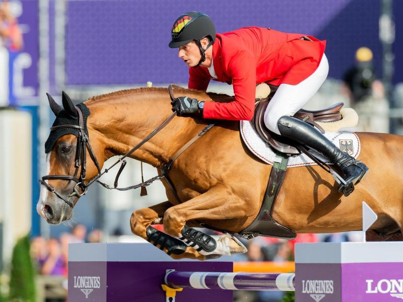 Siegreich in Wellington: Daniel Deußer und sein Pferd Tobago