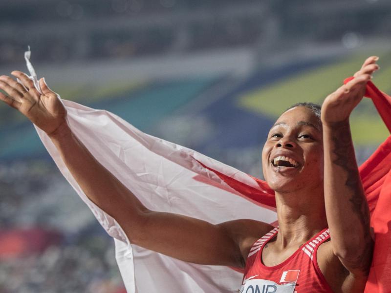 Hatte mehrere Doping-Tests verpasst: Die für Bahrain startende Salwa Eid Naser