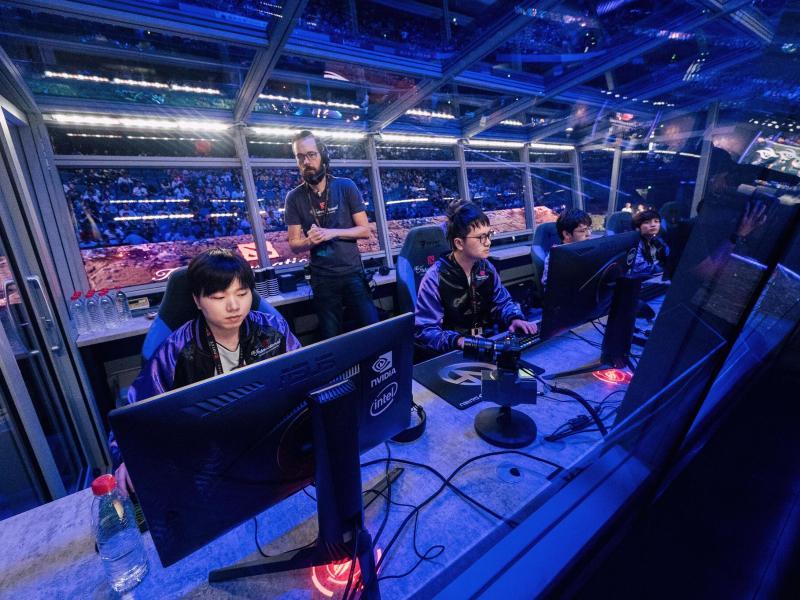 Gemeinsam mit PSG.LGD und Thunder Predator hat sich auch Vici Gaming in das obere Bracket der Playoffs Qualifiziert