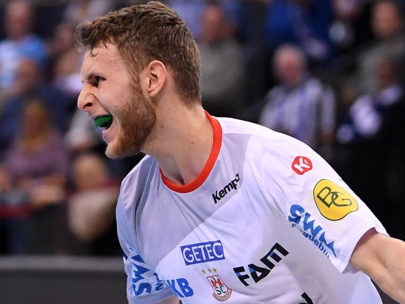 Bester Werfer des SC Magdeburg gegen Eurofarm Pelister: Justus Kluge