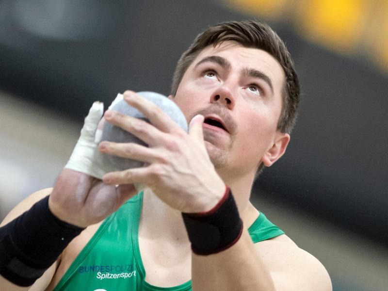 Musste wegen seiner Quarantäne einen Dopingkontrolleur nach Hause schicken: David Storl