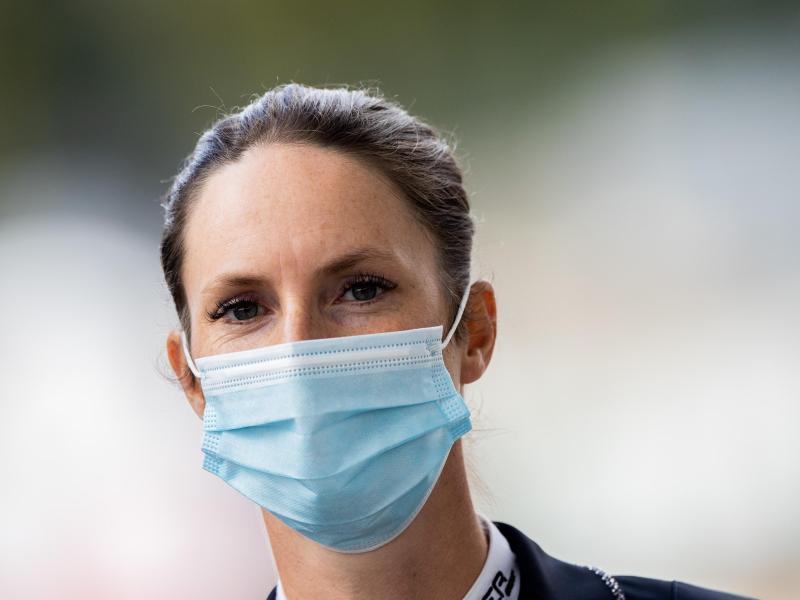 Die Pferde von Springreiterin Simone Blum blieben vom Herpes-Virus verschont