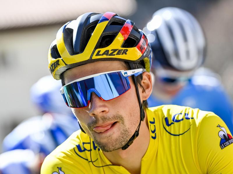 Roglic gewann das Einzelzeitfahren in Bilbao