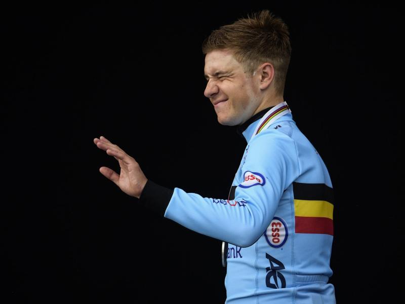 Supertalent Remco Evenepoel bleibt beim belgischen Radsport-Team Deceuninck-Quick-Step