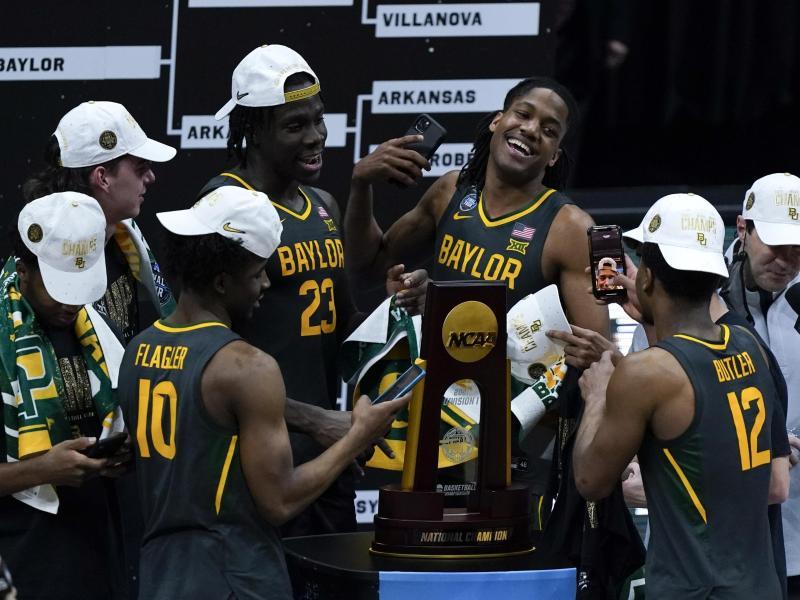 Die Baylor Bears haben erstmals die US-Basketball-Collegemeisterschaft gewonnen