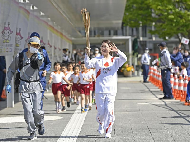 Der Olympischen Fackellauf wird nicht durch die Region Osaka führen
