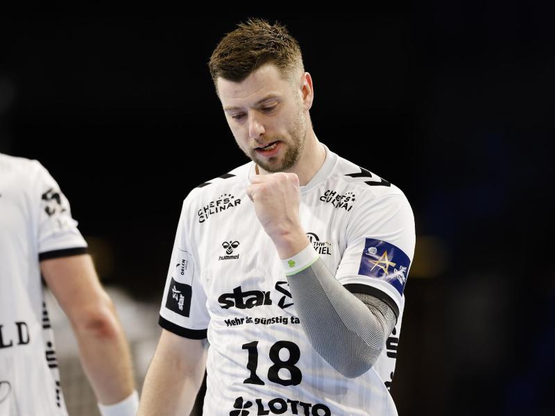 Kiels Niclas Ekberg erzielte gegen Hannover-Burgdorf acht Tore