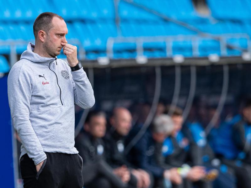 Sorgt sich wegen der erneuten Quarantäne für Holstein Kiel um den Zustand seiner Spieler: Trainer Ole Werner