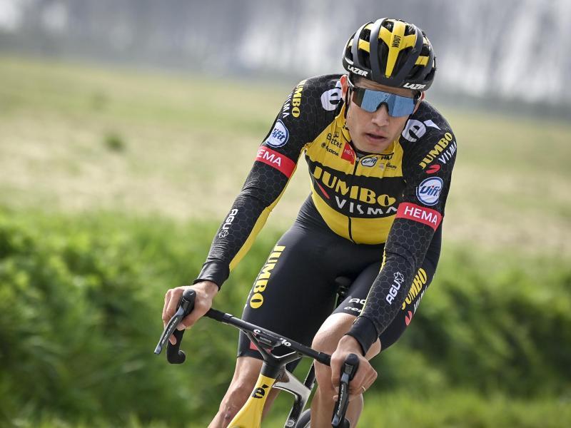Hat beim belgischen Radrennen Pfeil von Brabant den Sieg knapp verpasst: Wout van Aert