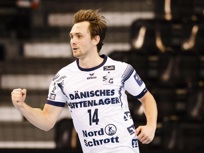 Verwandelte einen Strafwurf zum glücklichen Sieg für die SG Flensburg-Handewitt: Hampus Wanne
