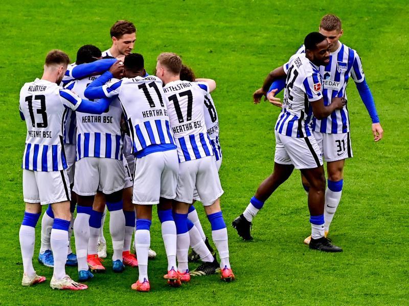 Den Spielern von Hertha BSC steht ein hektischer Schlussspurt bevor