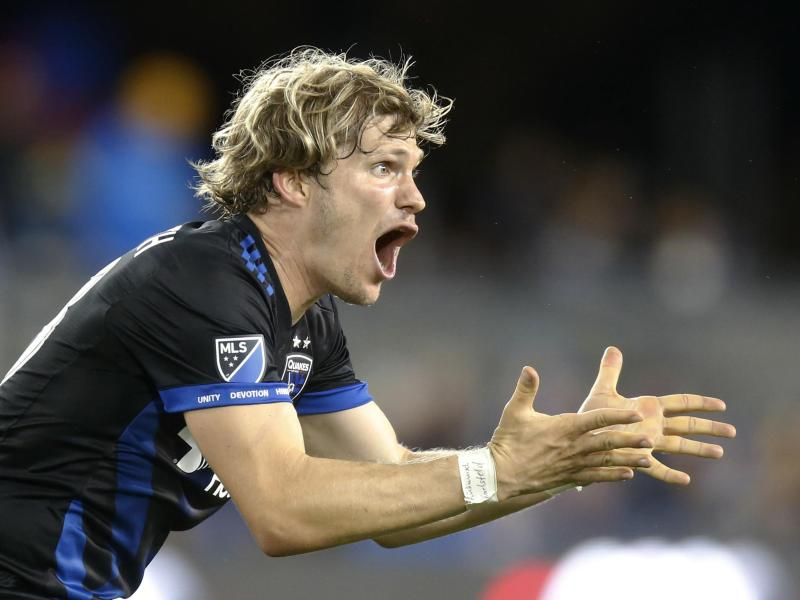 Florian Jungwirth verlor mit den San Jose Earthquakes