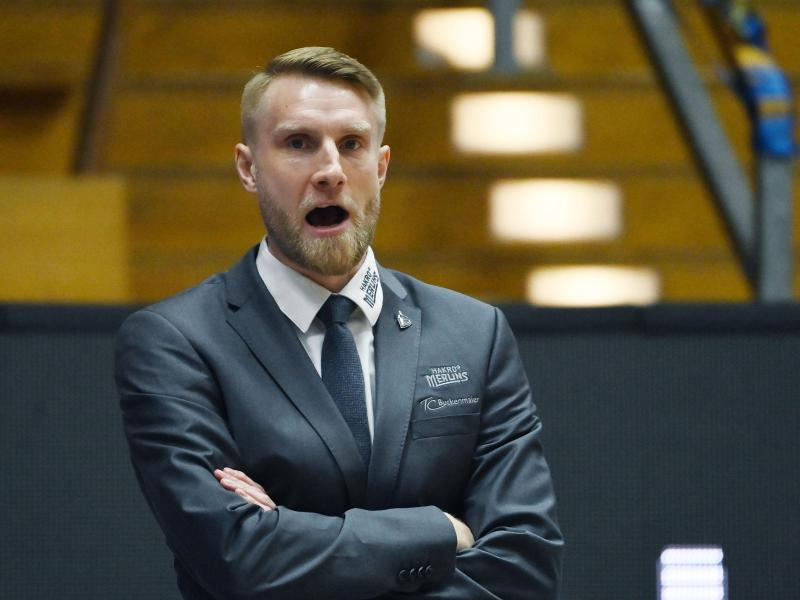 Cheftrainer der Hakro Merlins Crailsheim: Tuomas Iisalo