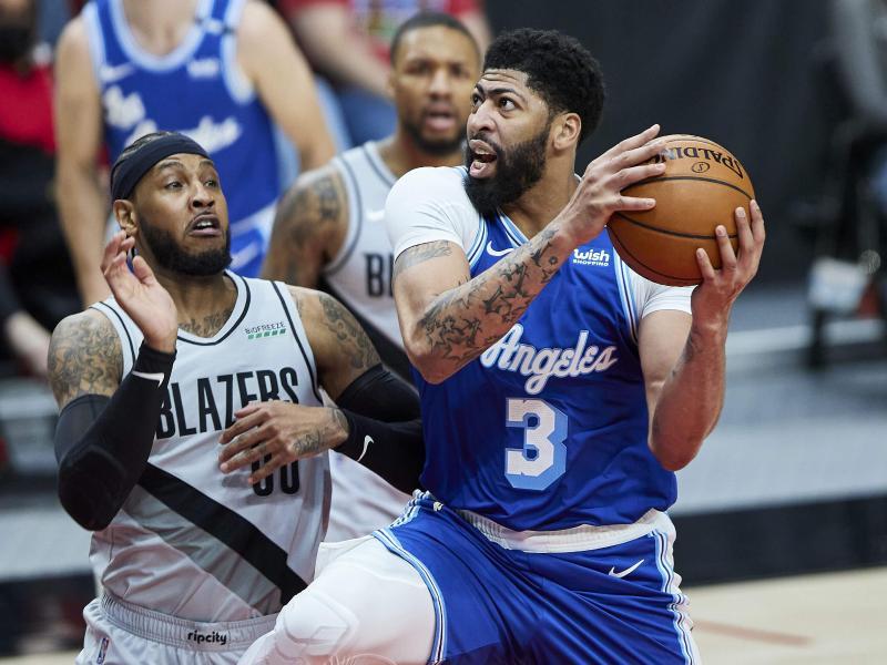 Die Los Angeles Lakers verloren bei den Portland Trail Blazers