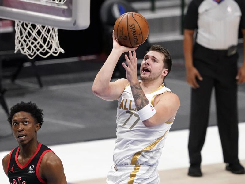 Führte die Dallas Mavericks in der NBA zum Sie: Luka Doncic