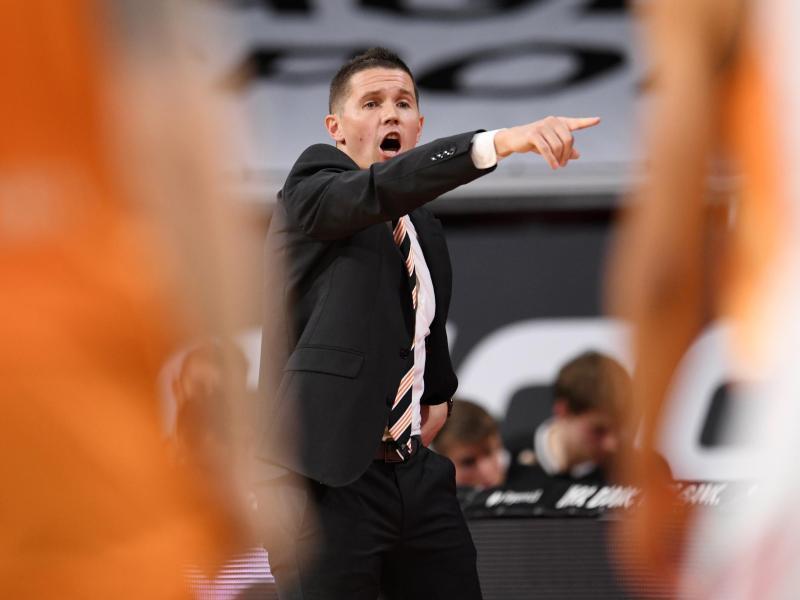 Musste sich mit Ulm im Pokal-Halbfinale Bayern geschlagen geben: Coach Tyron McCoy