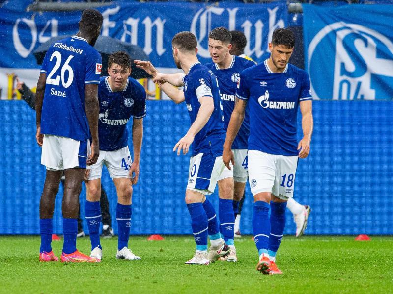 Seltenes Glücksgefühl: Absteiger Schalke feierte gegen Frankfurt den erst dritten Saisonsieg