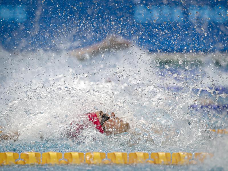 Kliment Kolesnikov stellte bei der Schwimm-EM den nächsten Weltrekord über 50 Meter Rücken auf