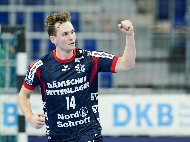 Der Flensburger Hampus Wanne erzielte elf Tore