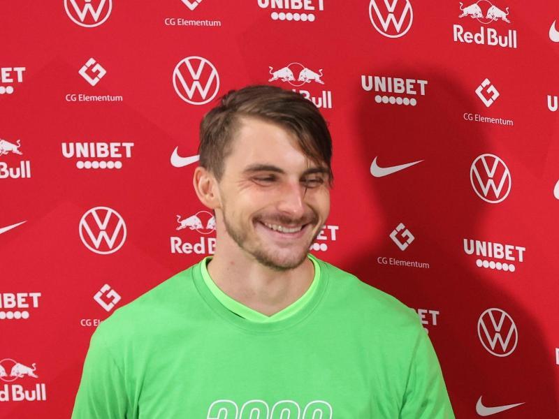 Wird offenbar weiter für den VfL Wolfsburg spielen: Maximilian Philipp