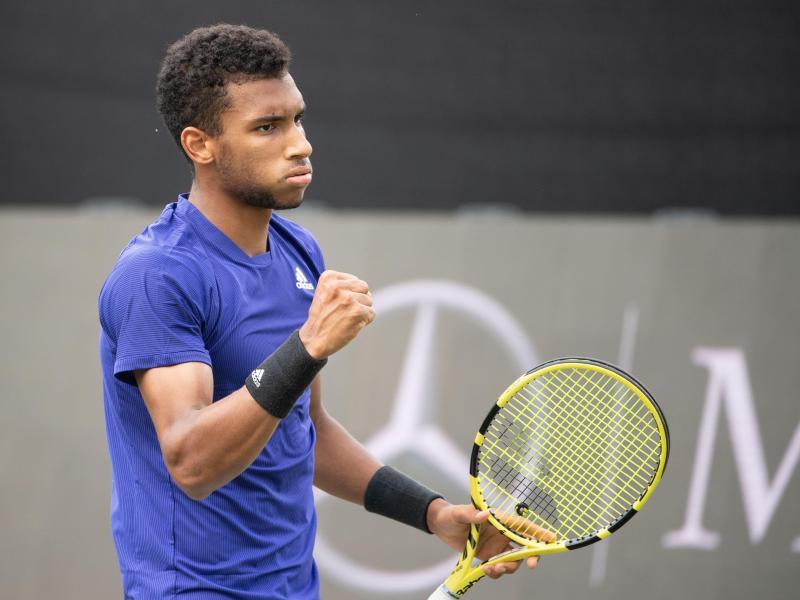 Steht in Stuttgart erneut im Halbfinale: Felix Auger-Aliassime