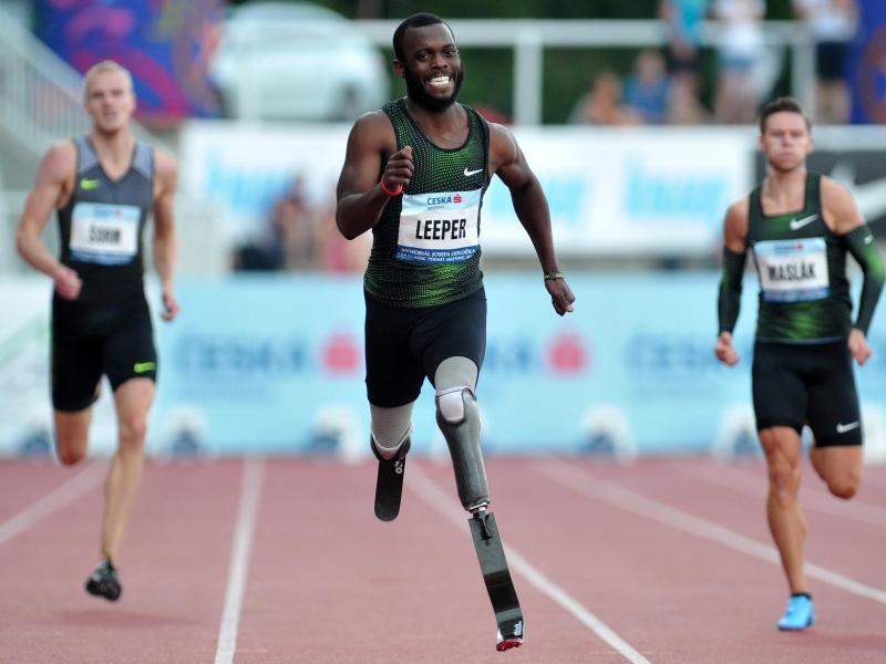Darf nicht an Wettbewerben des Leichtathletik-Weltverbandes und auch nicht an den Olympia teilnehmen: Blake Leeper