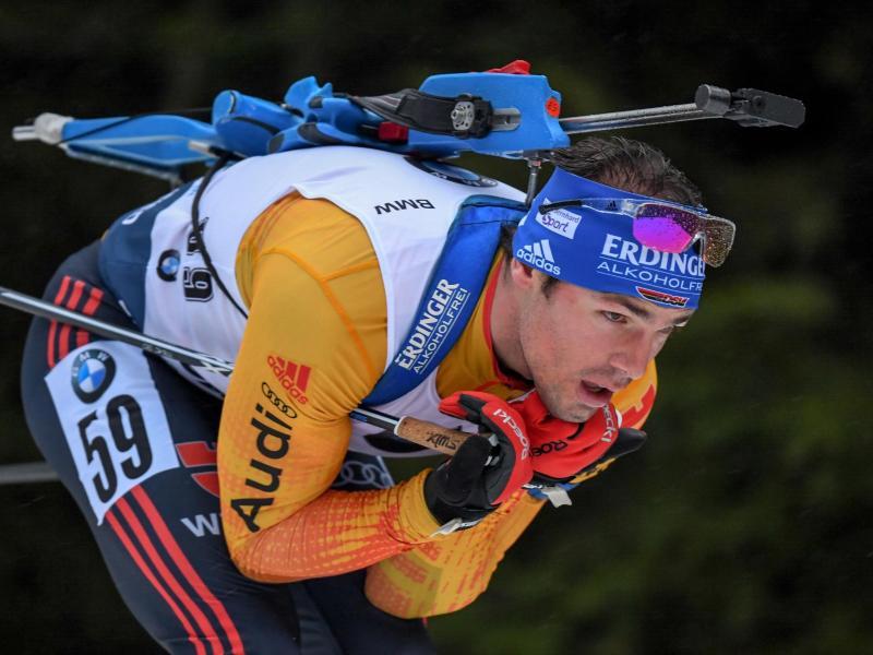 Beendete seine Laufbahn als aktiver Biathlet: Ex-Weltmeister Simon Schempp