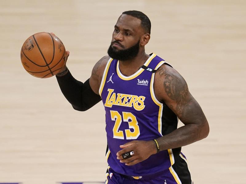 Kritisiert die NBA: Lakers-Star LeBron James