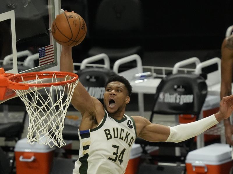 Erzwang mit den Milwaukee Bucks ein siebtes Spiel gegen die Brooklyn Nets: Giannis Antetokounmpo