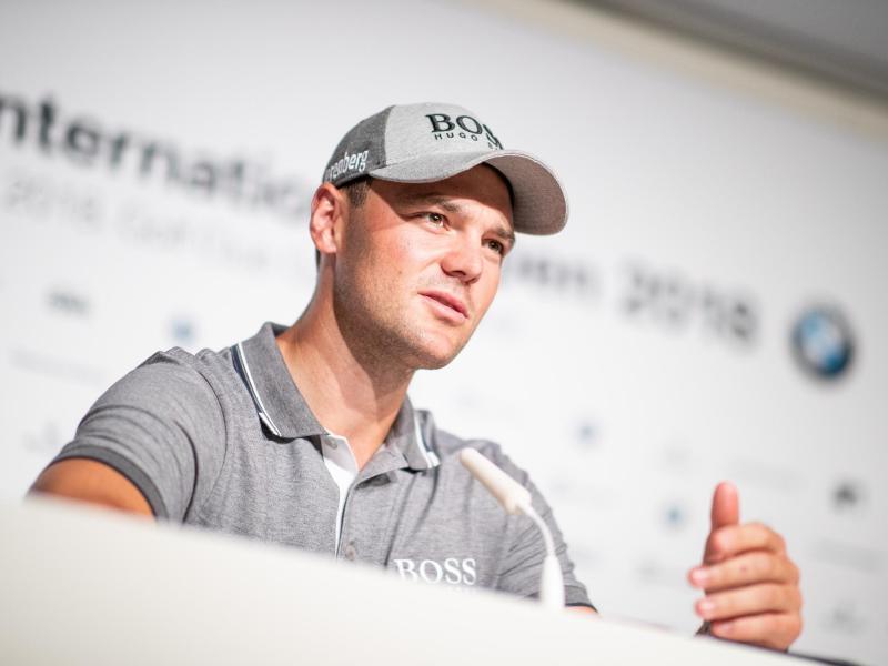Martin Kaymer wird bei den BMW International Open nur vor wenige Zuschauern antreten