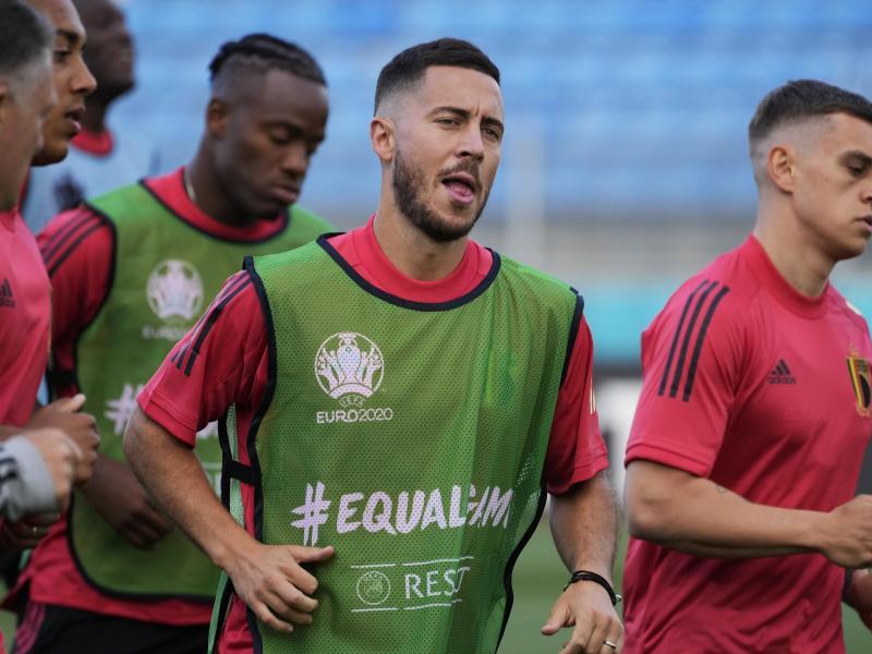 Eden Hazard ist der Kapitän der Belgier