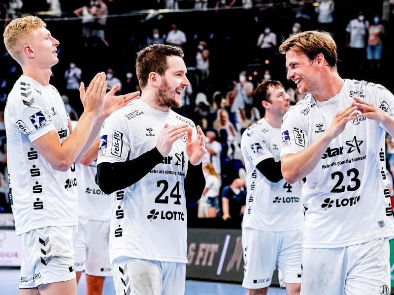 Der THW Kiel feierte einen Auswärtssieg in Ludwigshafen
