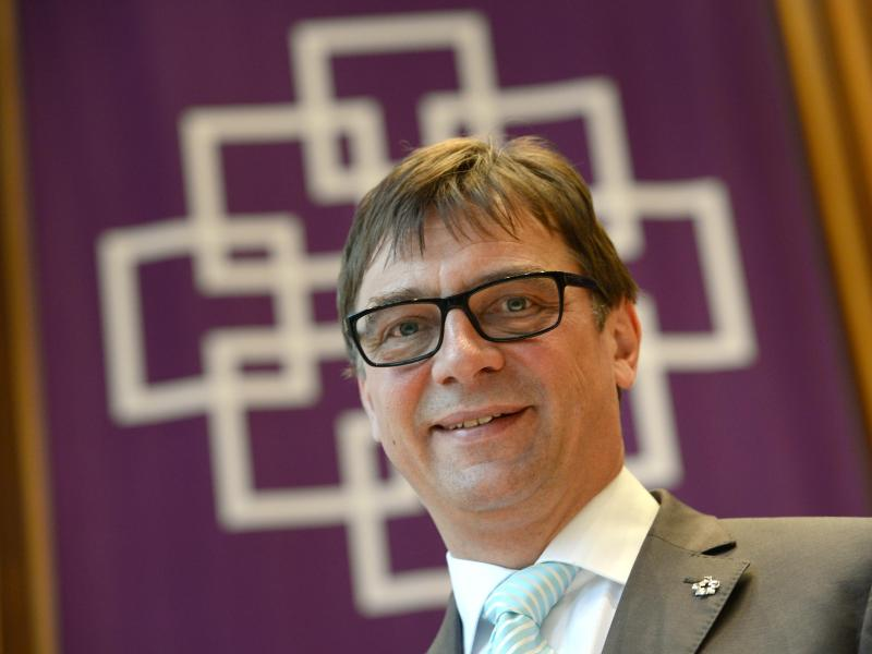 Volker Jung, Sportbeauftragter der Evangelischen Kirche in Deutschland.