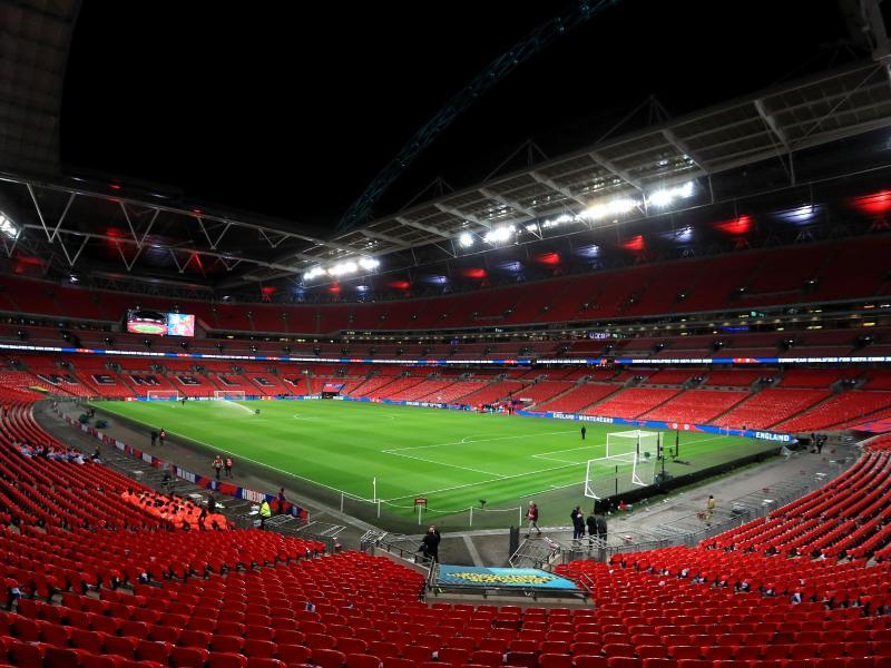 Zu den Halbfinals und dem Finale sind im Londoner Wembley-Stadion 60.000 Zuschauer zugelassen