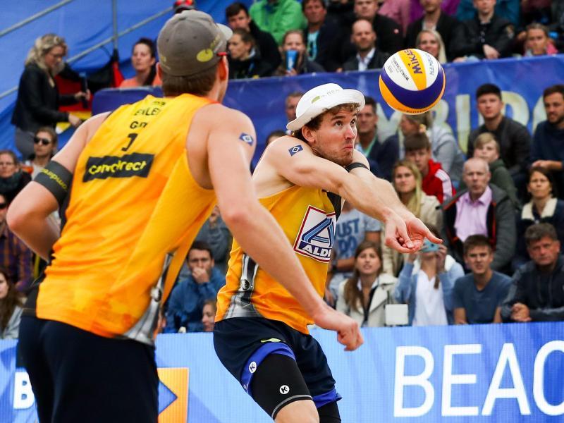 Verpassen die Olympia-Qualifikation: Nils Ehlers (l) und Lars Flüggen