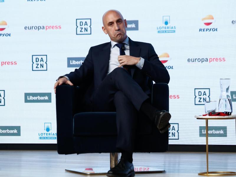 Luis Rubiales, Präsident des spanischen Fußballverbandes (RFEF)