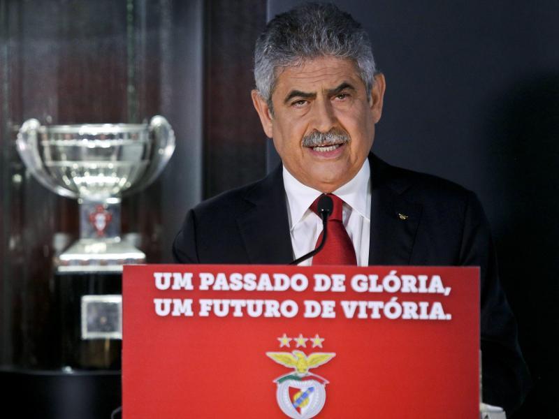 Gibt sein Amt als Benfica-Präsident ab:Luis Filipe Vieira