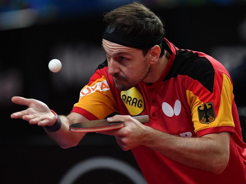 Weltspitze und zum sechsten Mal bei Olympischen Spielen, aber nie Gold geholt: Timo Boll in Aktion