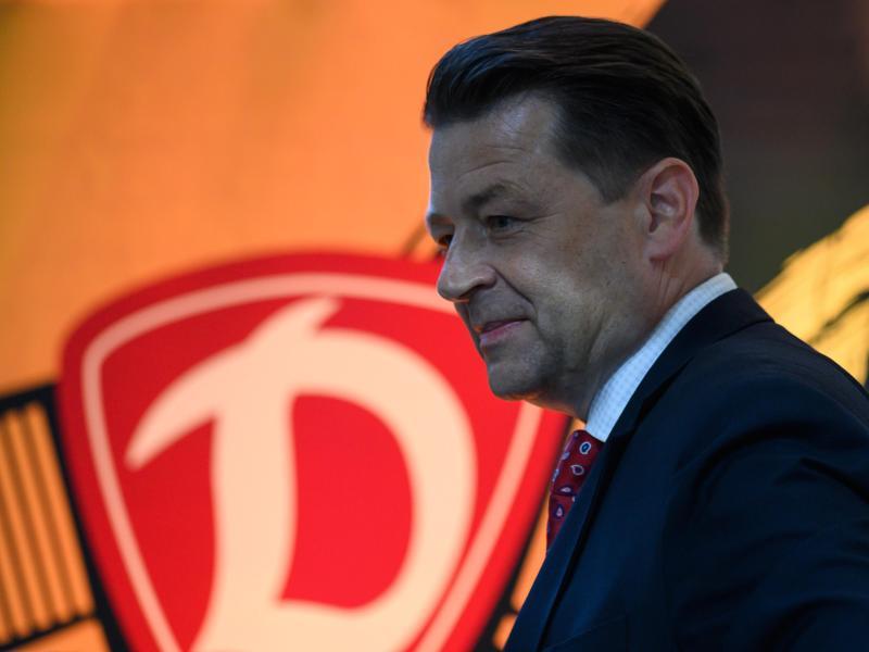 Bleibt Präsident von Dynamo Dresden: Holger Scholze