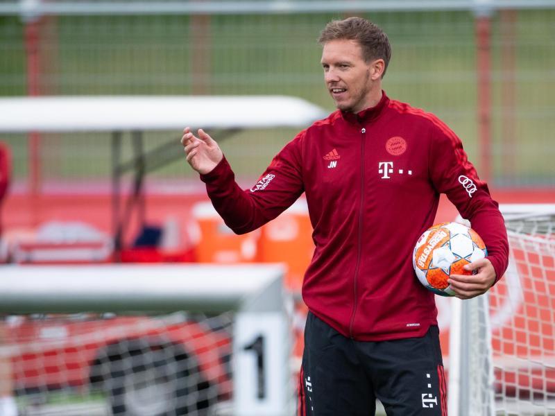 Julian Nagelsmann hat in seinen ersten Wochen bei FC Bayern alle Hände voll zu tun