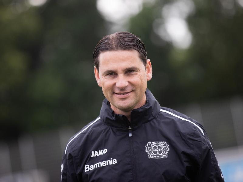 Startete mit einem Remis bei Bayer: Trainer Gerardo Seoane