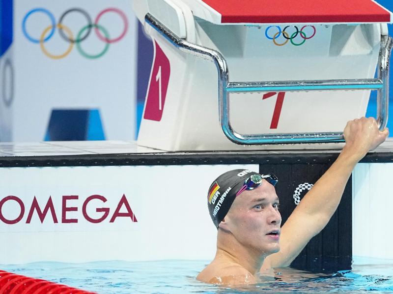 Verpasst das Finale über 400 Meter Lagen: Jacob Heidtmann aus Deutschland