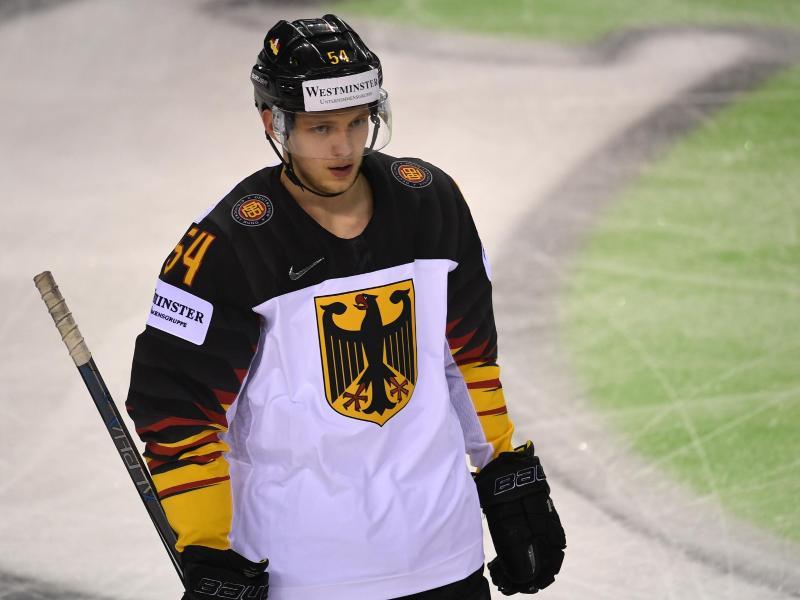 Eishockey-Nationalspieler Lean Bergmann