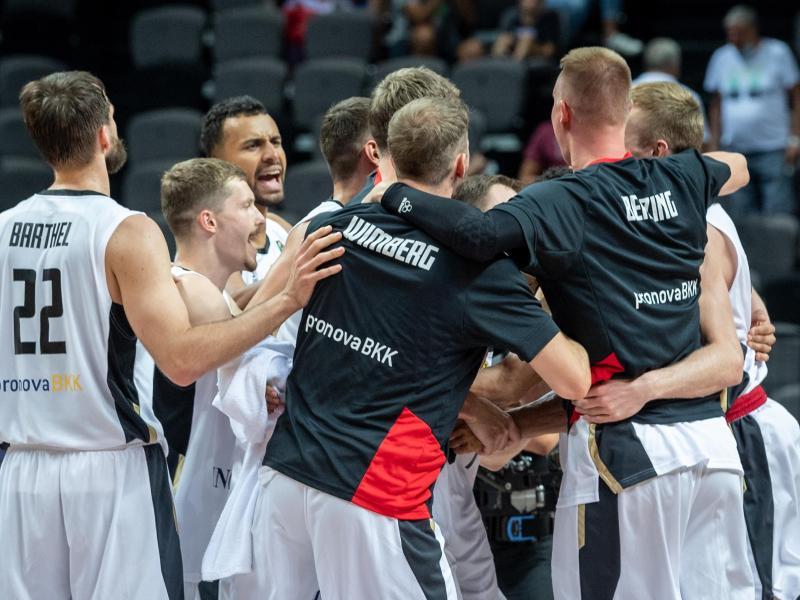 Die deutschen Basketballer treffen im zweiten Vorrundenspiel auf Nigeria