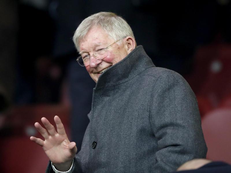 Erfolgstrainer Sir Alex Ferguson