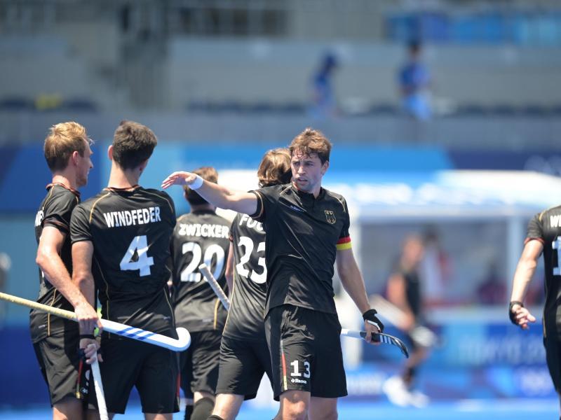 Die deutschen Hockey-Herren stehen schon vor ihrem letzten Gruppenspiel im Viertelfinale