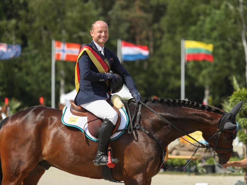 Will wieder Gold gewinnen: Vielseitigkeitsreiter Michael Jung