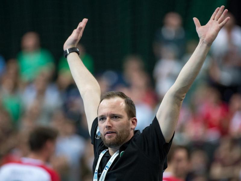 Verlängert vorzeitig bei DHfK Leipzig: Trainer André Haber